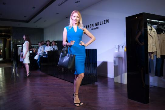 Beauty & fashion show Karen Millen